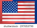 usa flag | Shutterstock . vector #297053750