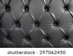 surface of the sofa  elegant... | Shutterstock . vector #297062450