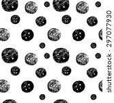 hand drawn seamless pattern...   Shutterstock .eps vector #297077930
