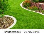 garden | Shutterstock . vector #297078548