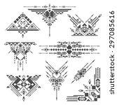 tribal elements | Shutterstock .eps vector #297085616