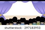 cartoon illustration of a... | Shutterstock .eps vector #297183953