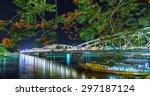 Trang Tien Bridge Lit Up At...
