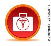medical bag icon  sign  | Shutterstock .eps vector #297203546
