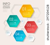 business infographic template... | Shutterstock .eps vector #297204128
