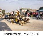 loikaw  myanmar   february 6 ... | Shutterstock . vector #297214016