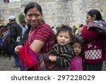 atitlan guatemala guatemala... | Shutterstock . vector #297228029