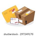 a vector cartoon representing a ... | Shutterstock .eps vector #297249170