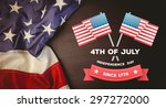 independence day graphic... | Shutterstock . vector #297272000