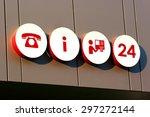 informational signage | Shutterstock . vector #297272144