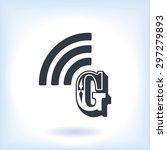 letter g  icon  | Shutterstock .eps vector #297279893