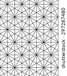 geometric seamless pattern ... | Shutterstock .eps vector #297287480
