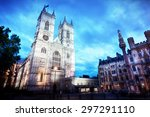Westminster Abbey Church Facad...
