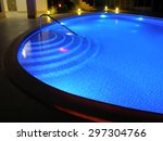 Pool 1. Oval Pool With Night...