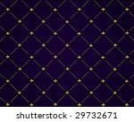 Blue And Gold Nautical Pattern