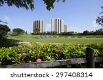Golf Course Nature Scene With ...
