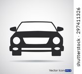 car icon | Shutterstock .eps vector #297411326
