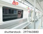 interior view of a subway car | Shutterstock . vector #297463880
