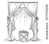 Wedding Arch. Wedding Altar....