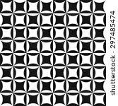 op art geometric pattern   Shutterstock .eps vector #297485474