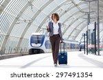 full length portrait of a... | Shutterstock . vector #297491354