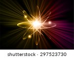 dark yellow purple color light...   Shutterstock .eps vector #297523730