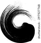 grunge wave logo element....   Shutterstock .eps vector #297527768