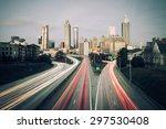 atlanta skyline  georgia  usa | Shutterstock . vector #297530408