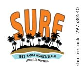 California Surf Illustration ...