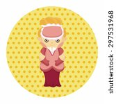 medieval character cartoon...   Shutterstock .eps vector #297531968