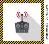 icon of radio remote control   Shutterstock .eps vector #297536396