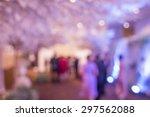 beautiful wedding  party under