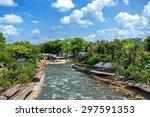 Bukit Lawang Village  Sumatra ...