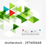 Abstract Geometric Background....