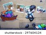 paris  france  15 june 2015 ... | Shutterstock . vector #297604124