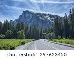 Road To Half Dome In Yosemite...