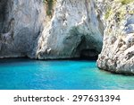 Grotto In Capri With Crystal...