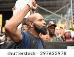 new york city   july 17 2015 ... | Shutterstock . vector #297632978