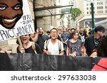 new york city   july 17 2015 ... | Shutterstock . vector #297633038