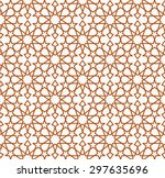 seamless islamic pattern of 10... | Shutterstock .eps vector #297635696