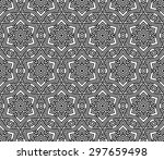 arabic pattern   Shutterstock .eps vector #297659498