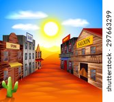 Wild West Town Photo Realistic...