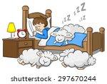 Vector Illustration Of Sheep...