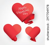 seasons greetings card | Shutterstock .eps vector #297704978
