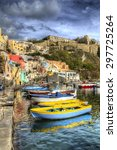 from the island of procida  bay ... | Shutterstock . vector #297725264