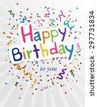 vector illustration of a happy...   Shutterstock .eps vector #297731834