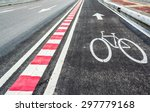 image of asphalt road and new... | Shutterstock . vector #297779168