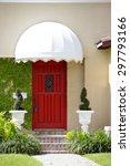 closeup section of a house | Shutterstock . vector #297793166