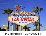 american nevada welcome to... | Shutterstock . vector #297803354