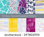 geometric seamless pattern... | Shutterstock .eps vector #297803954